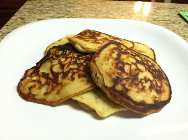Banana Pancakes by Edible Reflections