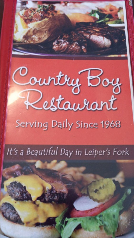 Country Boy Restaurant - Leiper's Fork, TN (3/5)