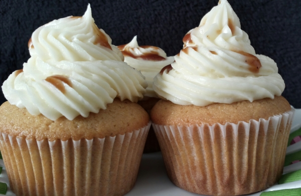 Tamarind Cupcakes with cream cheese frosting. Image by Edible Reflections