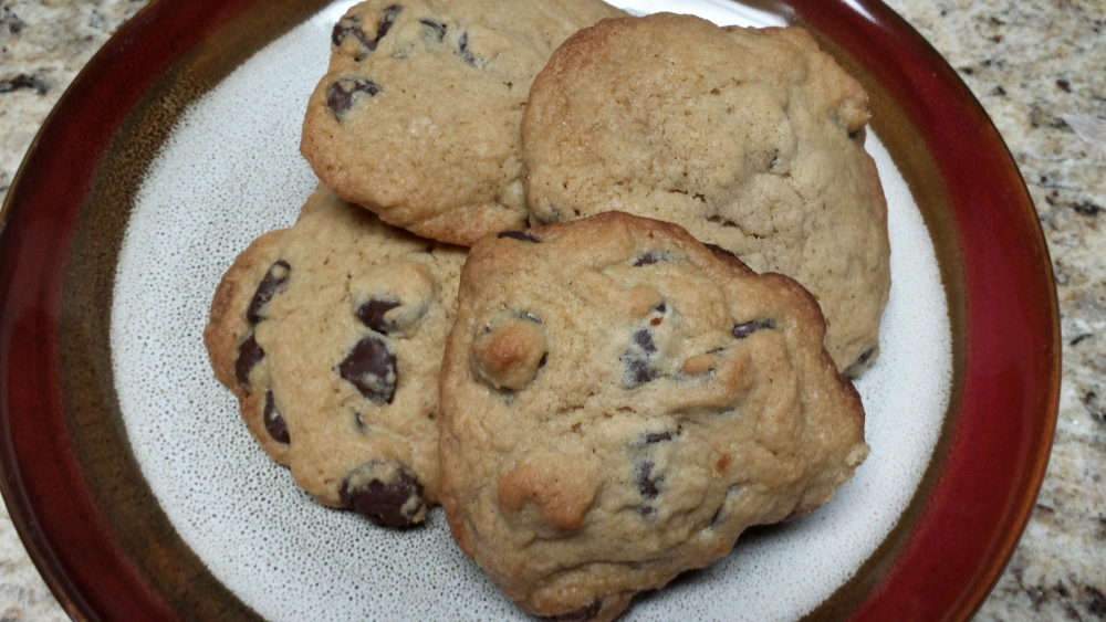 Chewy Chocolate Chip Cookies (2/2)