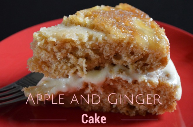 Apple and Ginger Cake by Little Pink Teacup