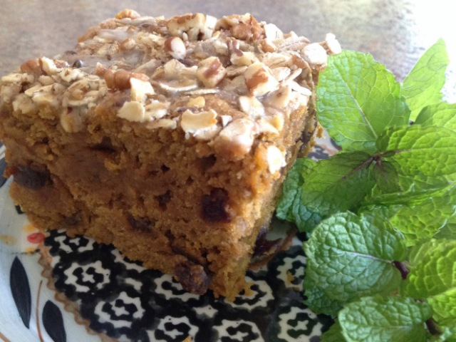 Pumpkin and Oat Spice Cake by Simply Made Kitchen and Crafts