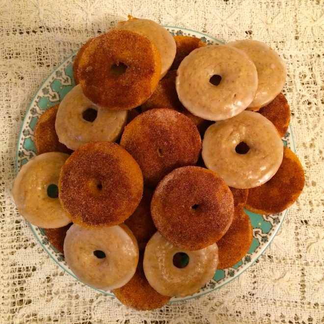 Pumpkin and Apple Donuts for Days by Sprinkles and Skirts