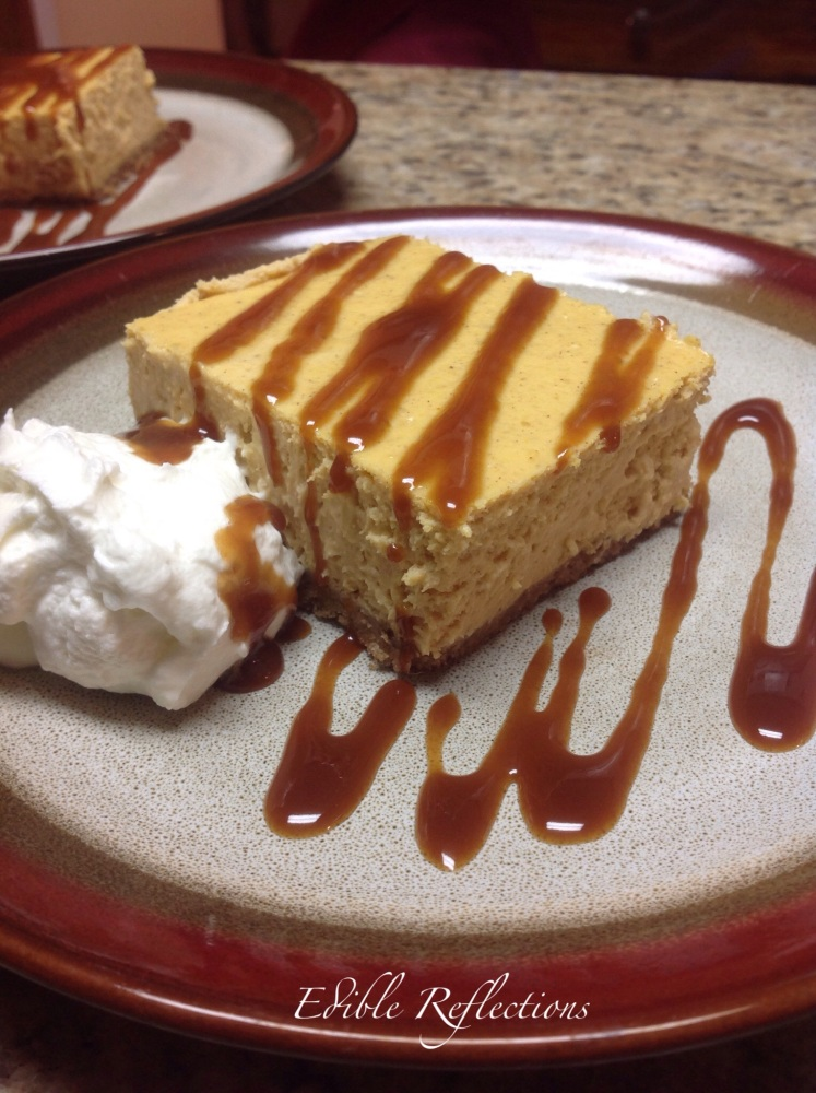 Pumpkin Cheesecake (1/2)