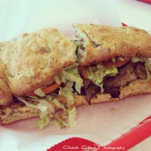Roast beef and Provolone cheese sub from Sub Depot Nashville, TN