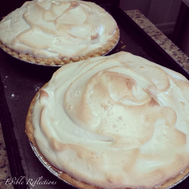 Lemon Meringue Pie by Edible Reflections
