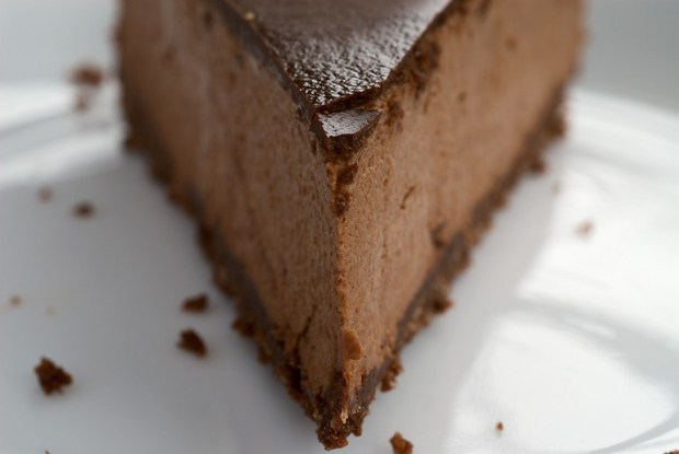 Chocolate-glazed Hazelnut Mousse Cake by Amazing World of Mine