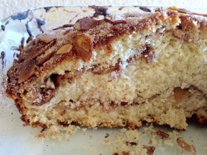 Almond and Cinnamon Coffee Cake by Something to Chiu On