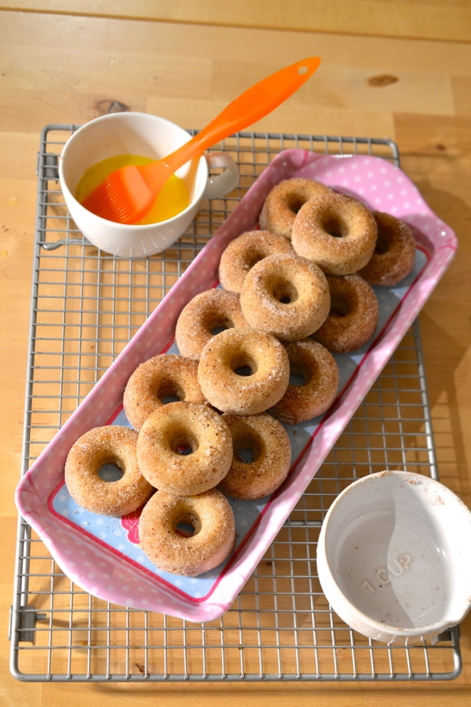 Baby Baked Donuts by Jo Blogs Jo Bakes