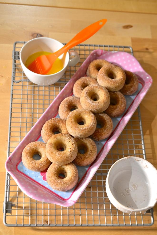 Baby Baked Donuts by Jo Blogs Jo Bakes