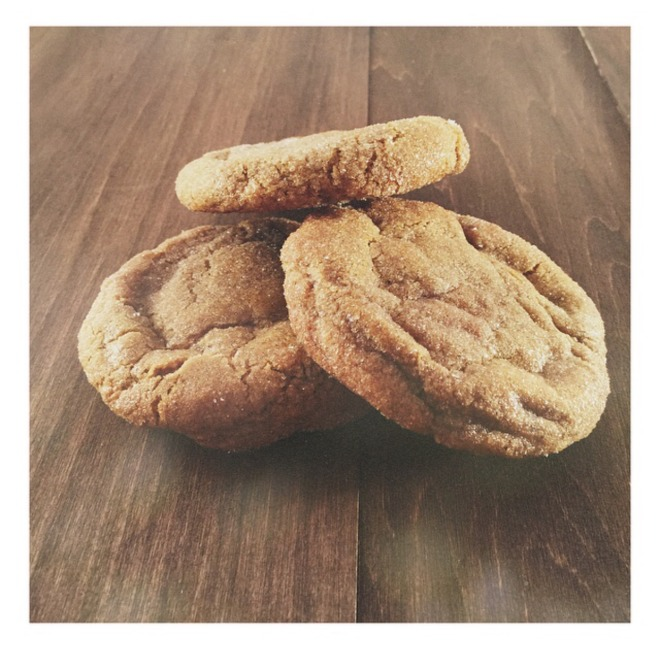 Ginger Molasses Cookies by Great Food Mediocre Company