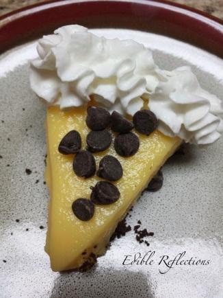 French Vanilla Pudding Pie