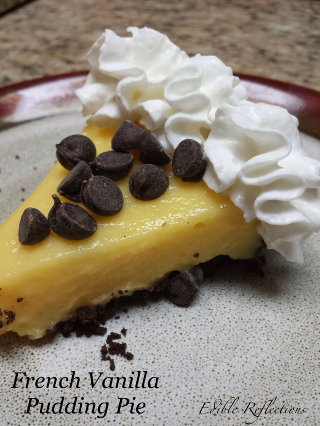 French Vanilla Pudding Pie