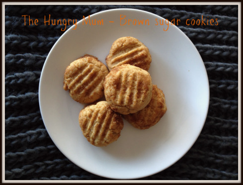 Brown Sugar Cookies by The Hungry Mum