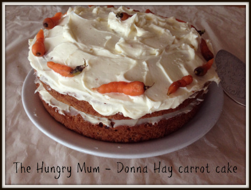 Donna Hay Carrot Cake with Cream Cheese Frosting by The Hungry Mum