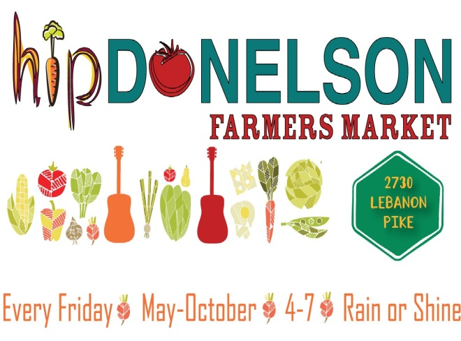Hip Donelson Farmers Market (image from their website)