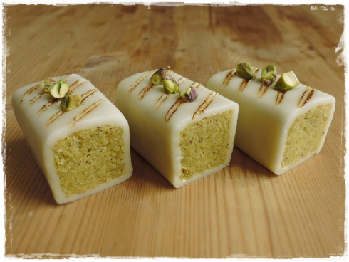 Pistachio & Almond Bars by Preheat the Over with Chef Jae
