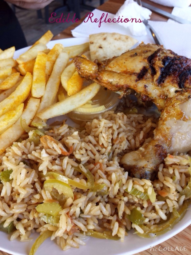Smokin Chikin - La Brasa flavor with Island Fried Rice