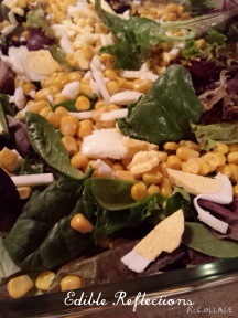 Beautiful green salad