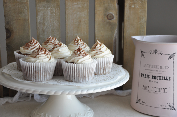 Cappucino Cupcakes by Blissfully Scrumptious