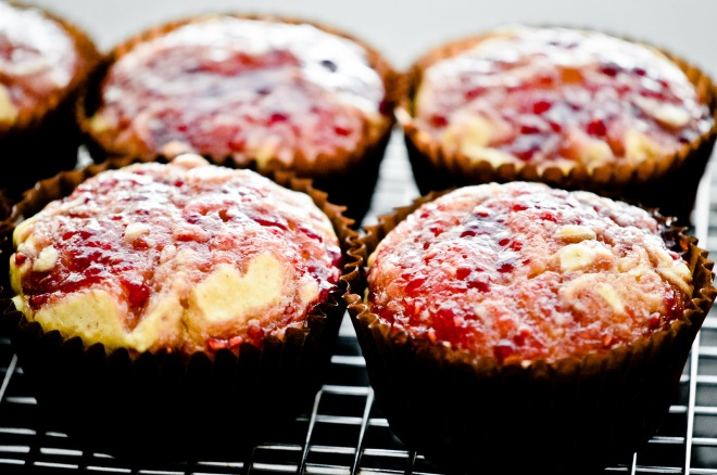 Maple Peanut Butter & Jelly Muffins (Vegan) by Angie & James Do Stuff
