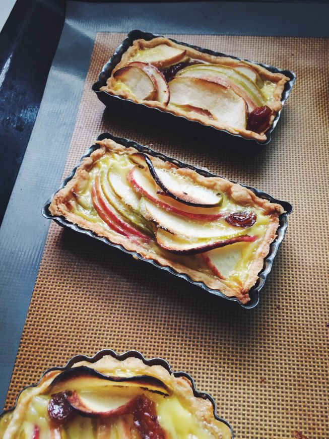 Normandy Apple tarts by Jo the tart queen