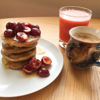 Quinoa Pancakes by Hermoine's Pantry