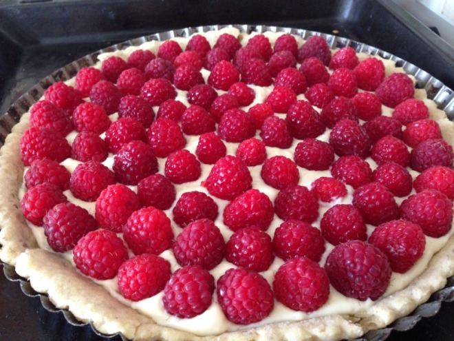 Summer Raspberry Pie by Project Wonder Woman