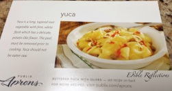 Yuca recipe from Publix
