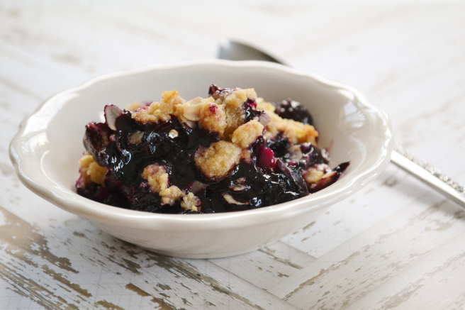 The Easiest Blueberry Crisp Recipe on Earth by The Joy of Caking