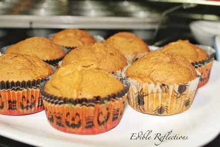 Naked Pumpkin Spice Cupcakes