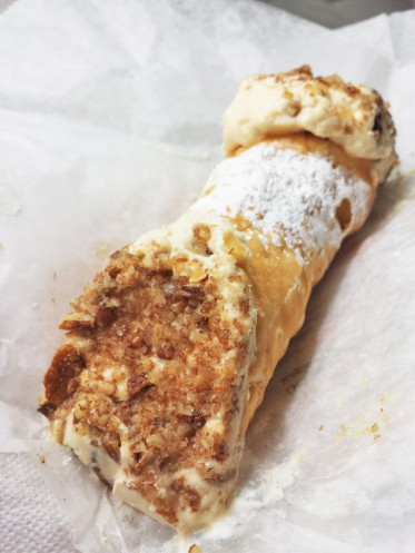 Hazelnut Cannoli from Mike's Pastry (North End)