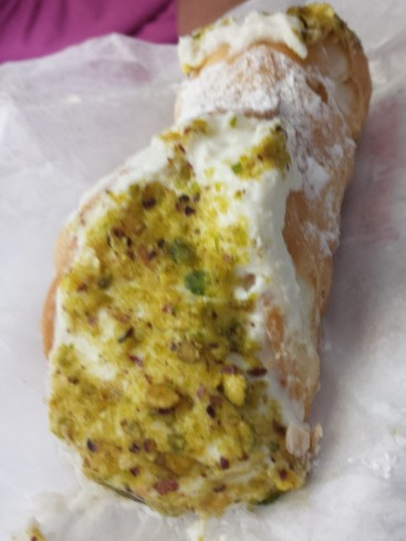 Pistachio Cannoli from Mike's Pastry (North End)