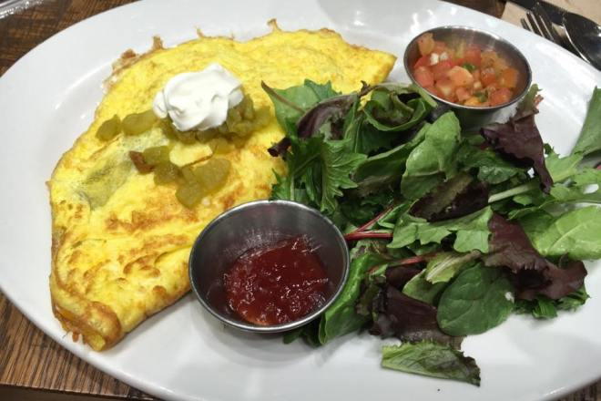 Chile Chorizo Omelet from First Watch