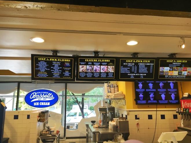 World Famous Bassetts Ice Cream