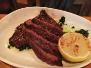 Hanger Steak -Opa Restaurant Philadelphia
