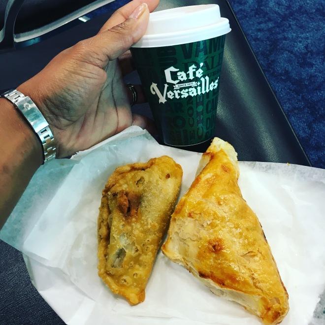 Empanadas from Café Versailles