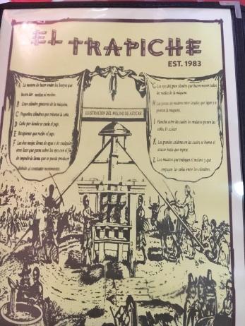 El Trapiche menu