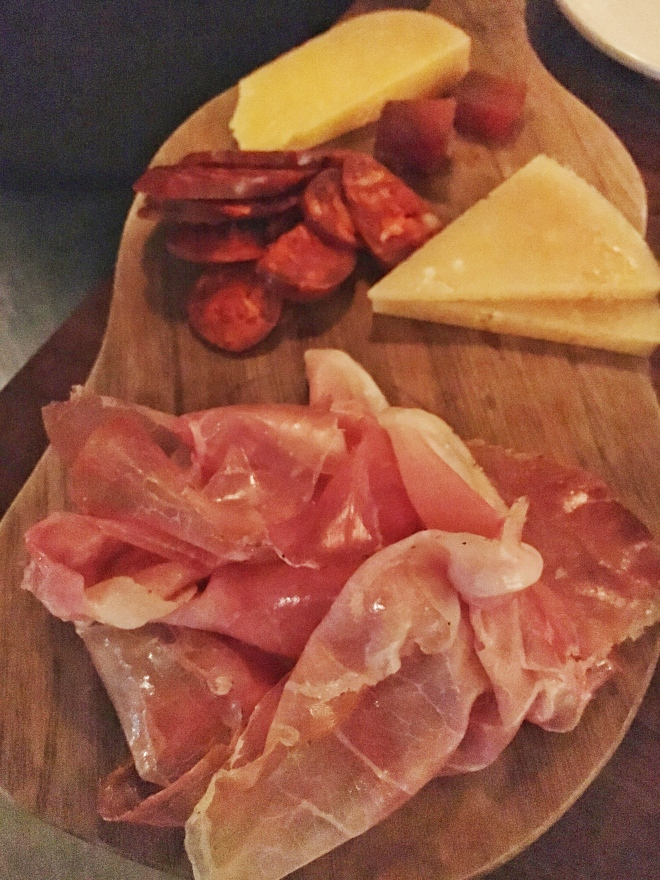 Cheese and meats platter - Barcelona Wine Bar. Picture by Edible Reflections