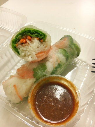 Shrimp spring roll from Laovin It