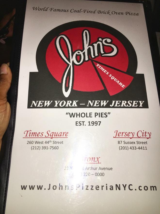 John's of Times Square