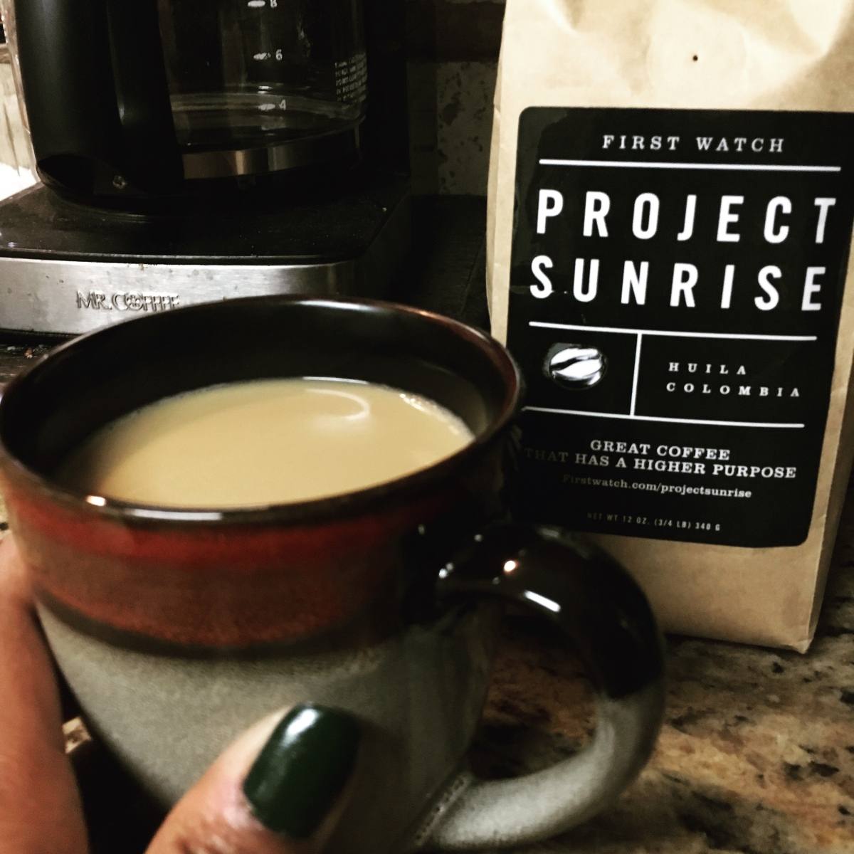 Coffee with a purpose